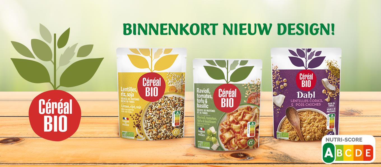 Nieuwe producten Céréal Bio